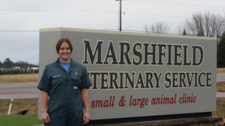 Dr. Ann Wenzel - large animal veterinarian - Marshfield Veterinary Service - Marshfield, WI